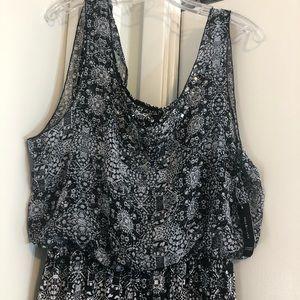 Style&Co small faces jumpsuit size L& XL